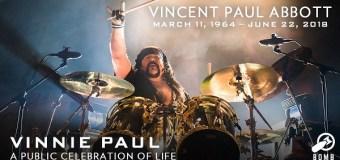 Vinnie Paul Memorial @ Bomb Factory in Dallas, TX – Photos, Video, Details, Directions, Info