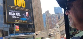 Billy Joel To Play 100th Show at Madison Square Garden – Photos/Videos