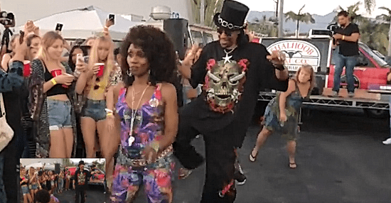 Rare Footage of Bootsy Collins House Party at Shalhoob Meat Company in Santa Barbara, CA