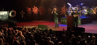 """Chris Adler, """"It was an honor to be able to present a tribute to Vinnie Paul"""" – VIDEO – Lamb of God – Pantera – Memorial"""