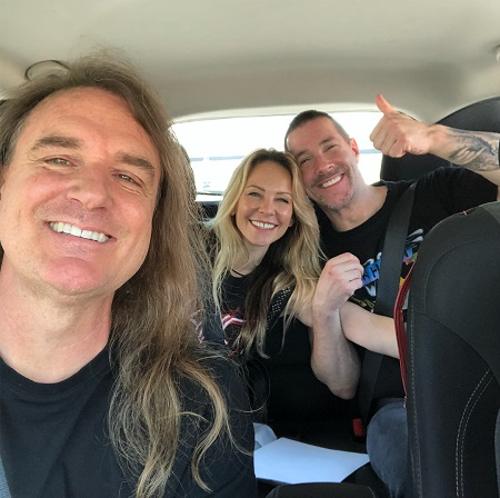Megadeth's David Ellefson Officiates Wedding Ceremony for Jeff Waters of Annihilator