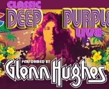Glenn Hughes 2018 Classic Deep Purple Tour Announced