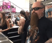 Slayer's Kerry King @ 2018 Comic-Con International: San Diego