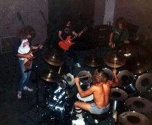 Megadeth w/ Kerry King of Slayer @ Rehearsal in Los Angeles (1984)