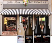 Y&T: Meniketti Wines @ Bella Luna Bistro in Merced, California