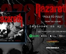 Nazareth: New 2018 Album/Song Announced – 'Tattooed On My Brain' – Pole to Pole
