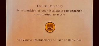 Pat Metheny Honored @ 2018 Barcelona Jazz Festival