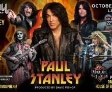"Paul Stanley, ""Imagine – YOU…On stage…Jamming with ME in Las Vegas at House of Blues!"" – 2018 Rock 'n' Roll Fantasy Camp"