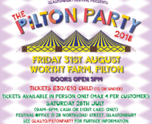 "Liam Gallagher, ""Absolutely Delighted To Be Invited To Play The Pilton Party"" 2018"