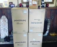 Tracii Guns HeadRush Rig Pack – Speakers – Amps – Pedalboard 2018