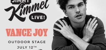 Vance Joy on Jimmy Kimmel Live 2018