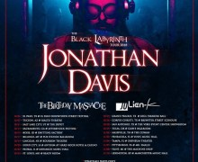 Jonathan Davis 2018 Tour Announced – Tickets – Dates w/ The Birthday Massacre and Julien-K