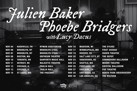 Julien Baker, Phoebe Bridgers, Lucy Dacus 2018 Tour Announced - 'boygenius'