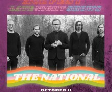 The National 2018 ACL Music Festival @ Stubb's Bar-B-Q in Austin, TX Announced – Tickets