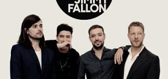 "Mumford & Sons on Jimmy Fallon – The Tonight Show 2018 – New Album/Song ""Guiding Light"""