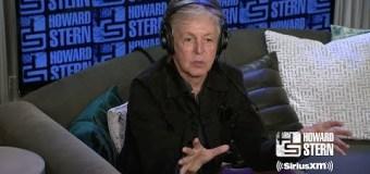 Paul McCartney on Howard Stern 2018 – LISTEN – WATCH – VIDEO – New Album