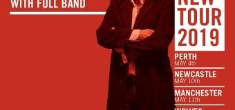 Ian Prowse w/ Amsterdam 2019 Album/Tour Announced