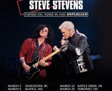 Billy Idol & Steve Stevens 2019 Tour Dates Announced – Tickets – LA, San Francisco, Boulder, NY, DC, Canada