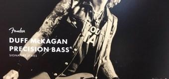 NAMM 2019: Duff McKagan of Guns N' Roses Talks New Fender Signature Bass