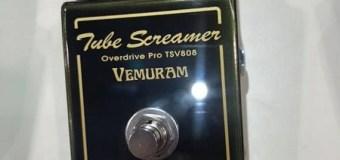 NAMM 2019: Ibanez Tube Screamer TSV808 Guitar Pedal Vemuram w/ DEMO VIDEO
