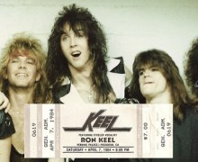 April 7, 1984 – The Debut Concert of Keel