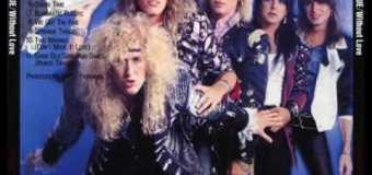 Pete Holmes on Black 'n Blue 'Without Love' Daze 1985 – Bob Rock (Motley Crue, Metallica), Bon Jovi, Fairbairn