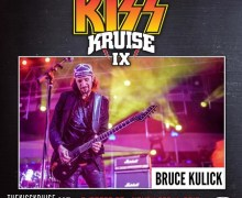 Bruce Kulick KISS Kruise IX 2019 Announcement