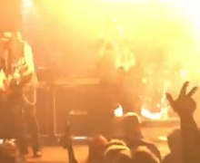 Killer Dwarfs, Helix and Kick Axe On Stage Footage 2019
