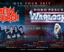 Metal Church & Doro Pesch 2019 Tour Announced – Los Angeles, Anaheim, Las Vegas, Brooklyn, Mesa