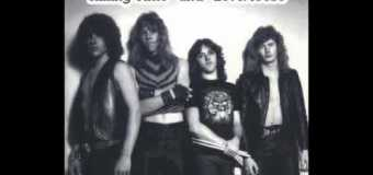 """Ron McGovney, """"Very early Metallica demo…before we recorded No Life til Leather"""""""