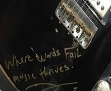 Queens of the Stone Age: Josh Homme Signed Guitar Auction