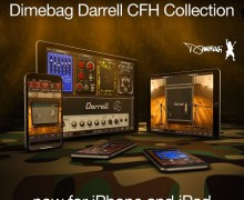 Dimebag Darrell CFH Collection AmpliTube for iPhone and iPad AMP Settings – Cowboys from Hell