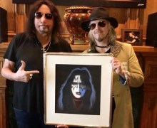 """John 5, """"Recording Some Guitars For Ace Frehley's Next Record 'Origins' Volume Two"""""""