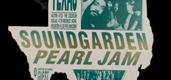 Soundgarden and Pearl Jam @ the Bronco Bowl in Dallas, TX 1992