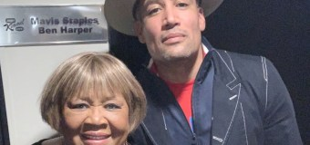 Mavis Staples w/ Ben Harper on Jimmy Kimmel Live 2019