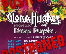 Glenn Hughes Postpones 2019 UK Tour Dates Due to Illness