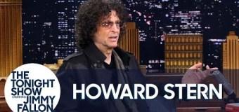 Howard Stern on Jimmy Fallon – Tonight Show – Extended Cut – Ozzy – VIDEO