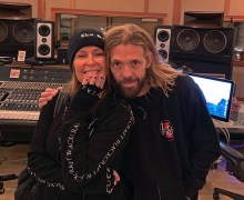 Lita Ford in the Studio w/ Taylor Hawkins 2019 – New Album