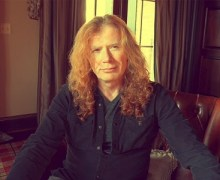 Dave Mustaine Battling Throat Cancer