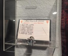Metal Blade Records Museum via Armored Saint's Joey Vera – Brian Slagel – Metallica – Slayer