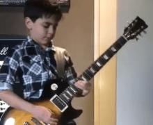 "PANTERA: Guitarist Jayden Tatasciore Plays ""Cowboys From Hell"""