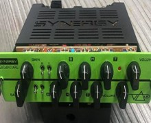 "Steve Vai, ""My Synergy Amps Signature Series Module"""