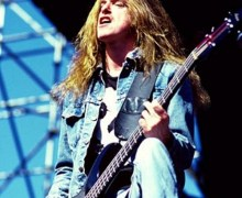 Cliff Burton T-Shirt – @ Day On the Green on August 31, 1985 – Gene Ambo