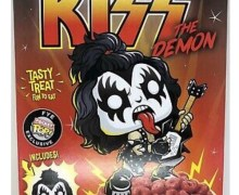 KISS CEREAL….Available @ FYE – Gene Simmons – The Demon