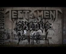 Testament, Exodus, Death Angel Members Talk 2020 Tour