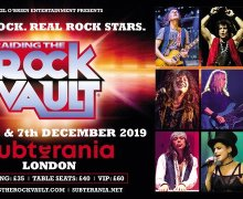 Raiding the Rock Vault LIVE at Subterania (London, UK) 2019 – Tony Franklin, Paul Shortino, McAuley