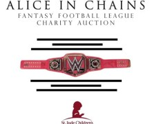 Alice in Chains Fantasy Football League Charity Auction