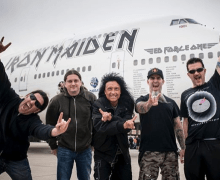 "Scott Ian, ""Throw Back To The Best Tour Ever!"" Iron Maiden / Anthrax"
