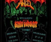 Dark Angel Australia Tour 2019 – Brisbane, Sydney, Melbourne, Adelaide w/ King Parrot