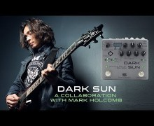 Dark Sun Guitar Pedal – Delay + Reverb – Mark Holcomb – Periphery